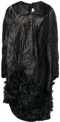 Comme des Garcons quilted asymmetric hem dress