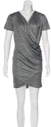 Nightcap Clothing Metallic Mini Dress
