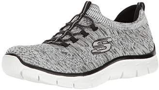 Skechers Sport Women's Empire Sharp Thinking Fashion Sneaker $65 thestylecure.com