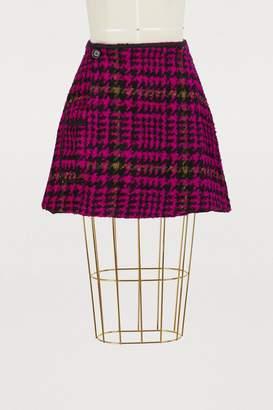 Jour/Né Short houndstooth skirt