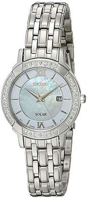 Seiko Women's 'Sport Watches' Quartz Stainless Steel Dress Watch (Model: SUT277)