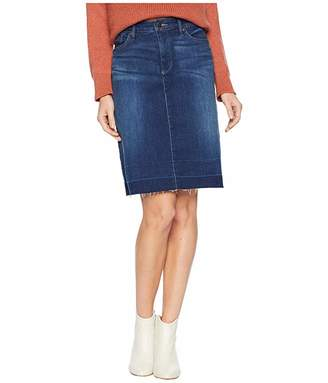 ff2d2da16d NYDJ Five-Pocket Skirt w/ Wide Release Hem