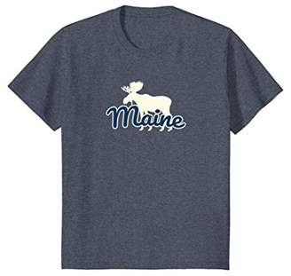 Maine Moose T-Shirt - Souvenir or Vacation Gift