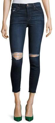 Joe's Jeans The Charlie Cropped Skinny Jeans, Kennide $189 thestylecure.com