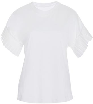 Alexis Ziva Pleated Sleeve Top $195 thestylecure.com