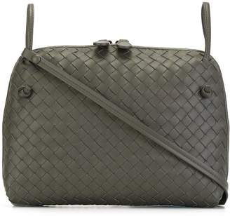 Bottega Veneta light gray Intrecciato nappa nodini bag