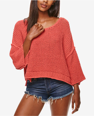 Free People Halo Pullover Sweater $128 thestylecure.com