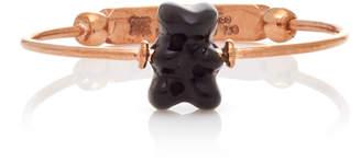 Lauren X Khoo Gummy Bear 18K Rose Gold and Onyx Ring