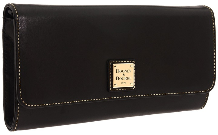 Dooney & Bourke - Lambskin Clutch (Black) - Bags and Luggage