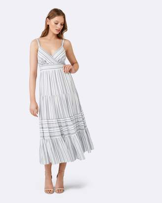 Forever New Bridget Stripe Maxi Dress