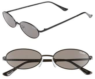 Quay Clout 54mm Round Sunglasses
