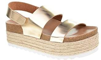 Chinese Laundry by Women's Peyton Espadrille Wedge Sandal