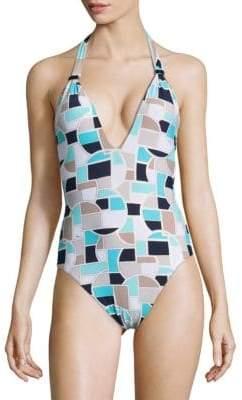 Trina Turk Disco One-Piece Swimsuit
