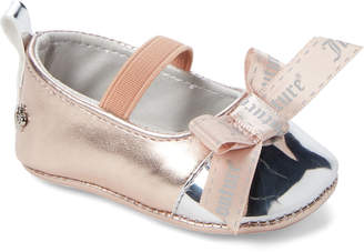 191820dd8f Juicy Couture Infant Girls) Rose Gold Baby Venice Flats