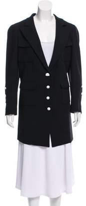 Chanel Wool Short Coat