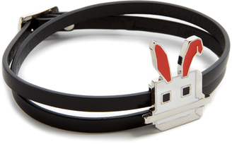 McQ - Alexander McQueen Electro Bunny Mini Bracelet $100 thestylecure.com