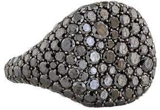 David Yurman 18K Diamond Pavé Pinky Ring