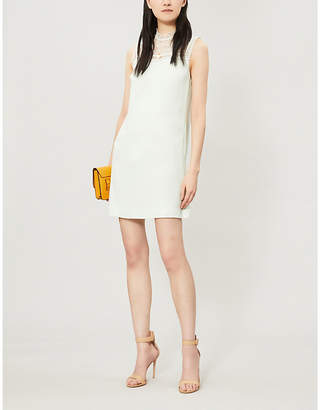 Ted Baker Carsey Floral Lace Trim Shift Dress