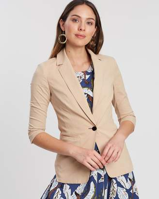 Privilege Long Sleeve Tailored Cut Blazer