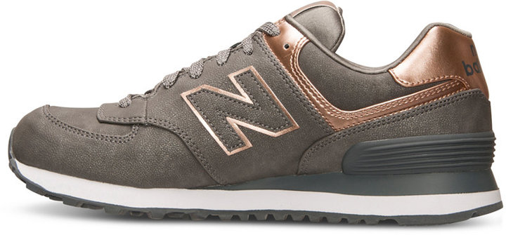 New Balance Women's 574 Precious Metals Casual Sneakers from Finish Line 3