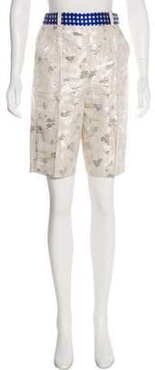 Ostwald Helgason Patterned Knee-Length Shorts