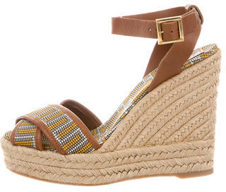 Tory BurchTory Burch Woven Wedge Sandals