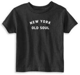 Toddler's, Little Kid's & Kid's Old Soul Cotton Tee