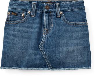 Ralph Lauren Denim 5-Pocket Skirt