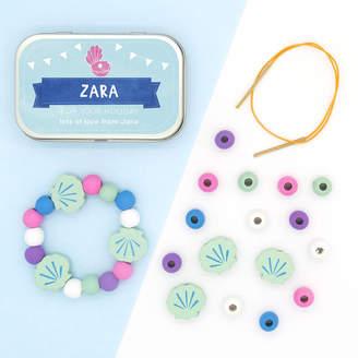 Cotton Twist Personalised Mermaid Bracelet Gift Kit