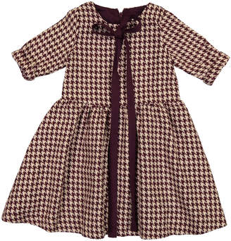 Teela NYC Houndstooth Waist Dress