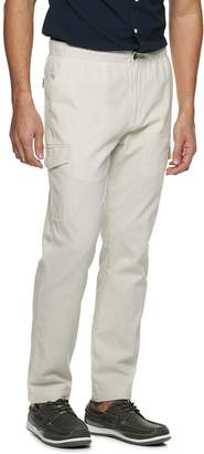 Croft & Barrow Men's Linen-Blend Cargo Pants