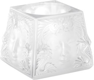 Lalique Clear Woman's Mask Votive