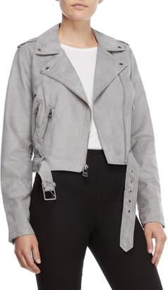 Levi's Microsuede Asymmetrical Moto Jacket