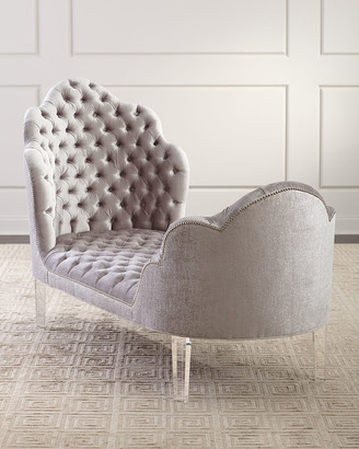 Haute House Elise Tufted Chaise
