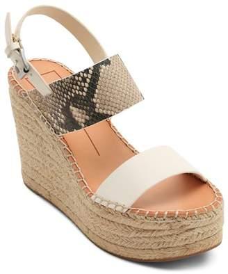 Dolce Vita Women's Spiro Snake-Embossed Platform Sandals