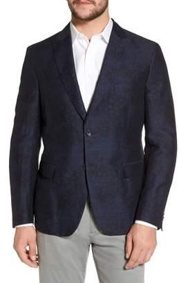 Blend of America FLYNT Slim Fit Patterned Linen Sport Coat
