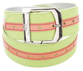 Dolce & Gabbana Canvas Buckle Belt