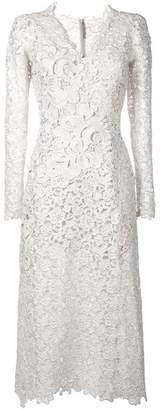 Ermanno Scervino flower lace dress