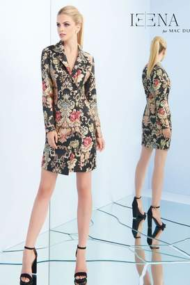 Mac Duggal Brocade Blazer Dress