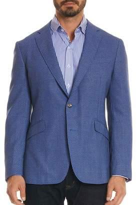 Robert Graham Olsen Tailored Fit Wool Blend Sport Coat