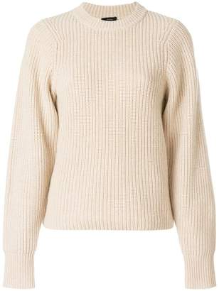 Joseph ribbed knit sweater