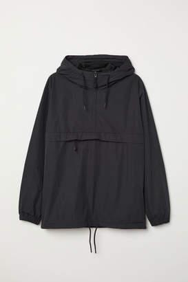 H&M Anorak with Hood - Black
