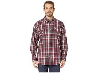 Cinch Long Sleeve Plaid