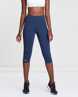 Under Knee Leggings With Pockets