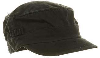 Cameo Washed Cotton Fitted Army Cap- W32S34E, L/XL