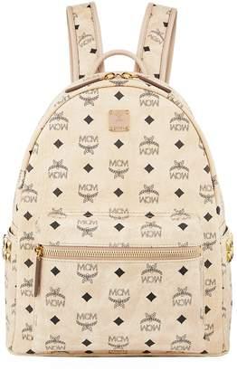 MCM Semi-Medium Studded Stark Backpack