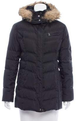 Andrew Marc Hooded Puffer Jacket