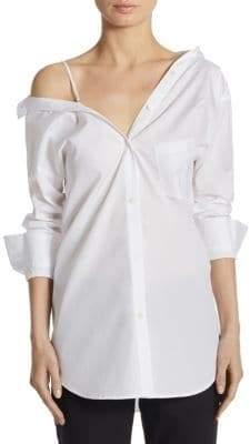 Theory Tamalee Cotton Dress Shirt