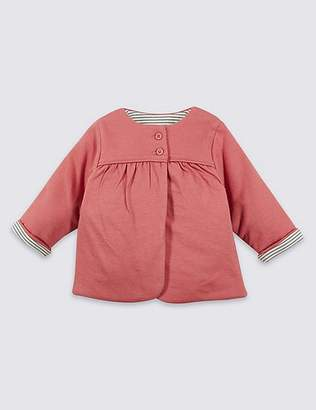 Marks and Spencer Pure Cotton Jersey Jacket