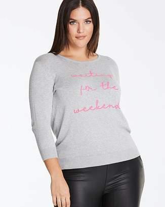 9a2826a032b Slogan Jumper - ShopStyle UK
